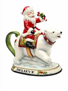 Christmas Polar Bear Teapot