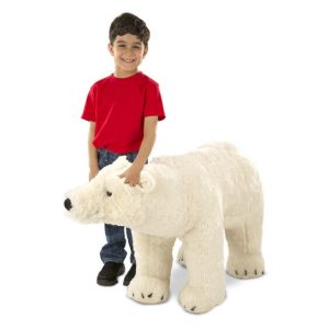Giant Polar Bear Teddy