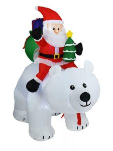 Outdoor Christmas Polar Bears