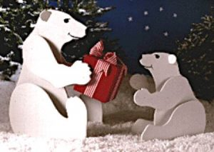 Outdoor Polar Bear Decorations