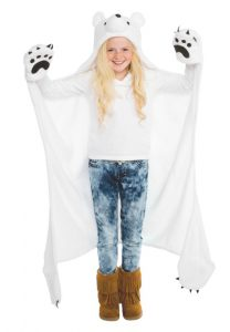 Polar Bear Head Costume