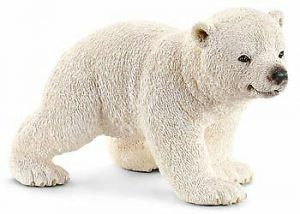 Polar Bear Toy Figures