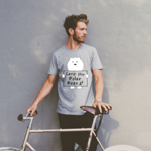 Save The Polar Bears Tshirt